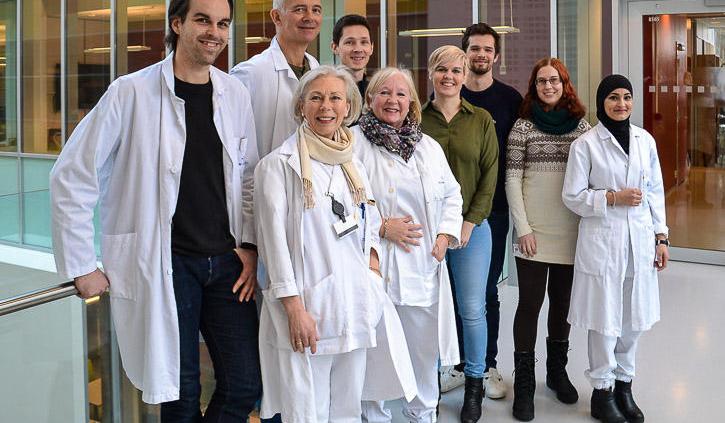 Forskningsgruppen ved UiB Foto.: Irene Lavik Hjelmaas